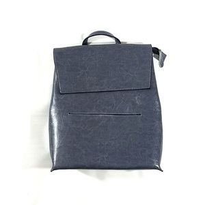 Genuine Leather SBS Timing Stone Blue Backpack